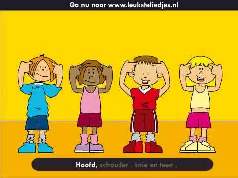 Kinderliedjes- Hoofd, Schouder Knie en teen 1