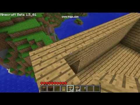 Minecraft huis bouwen 9