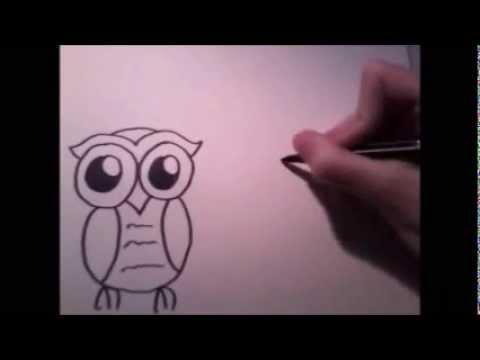 Grappige dieren tekenen 1