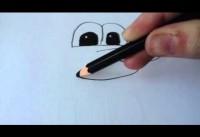 Leer Een Blij Tekenfilm Poppetje Te Tekenen 2