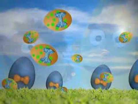 Gele Stippen op een Ei (Het eierlied) - Bert en Ernie hit! 1