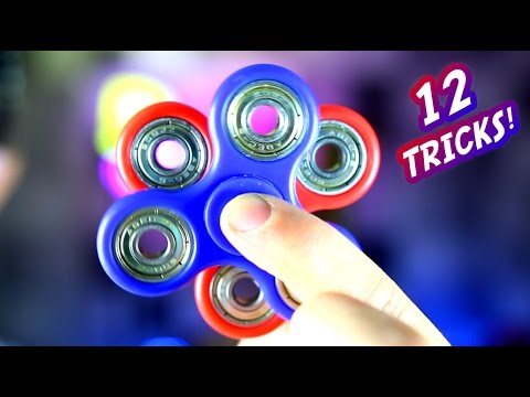 12 Hand Spinner Fidget Tricks 1