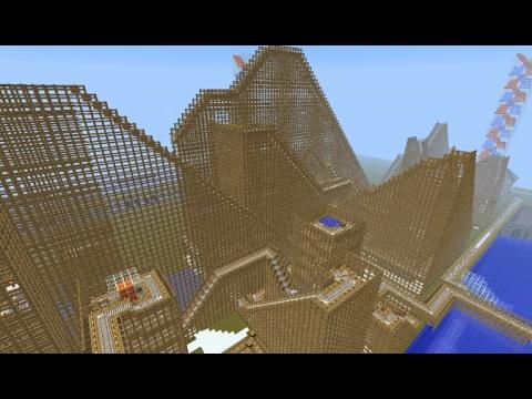 Efteling in Minecraft 2