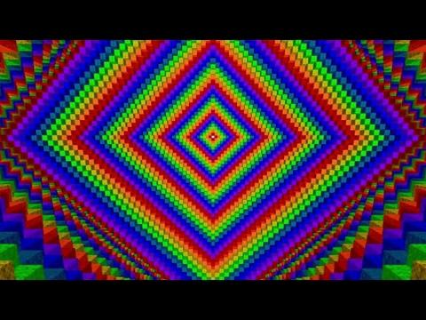 Optische illusie in Minecraft 1