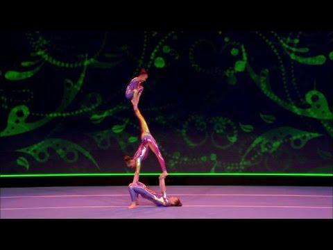 Trio Flikflak stunt met acrobatiek - SUPERKIDS 2