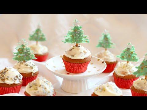 Kerst cupcakes maken 1