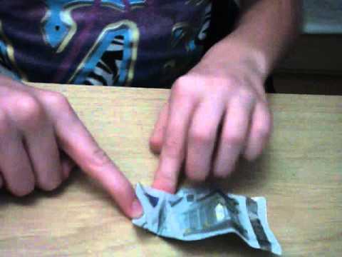 Visje van geld vouwen 2