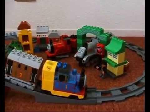 Thomas de Stoomlocomotief - Lego Duplo 3