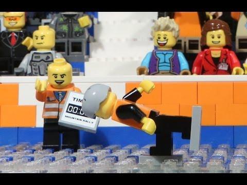 Lego: Sven Kramer schaatst voor Goud 5000m OS2014 Sochi 1