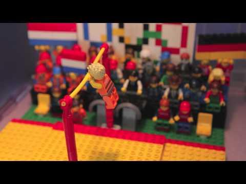 Lego: Epke Zonderland turnt voor Goud 10