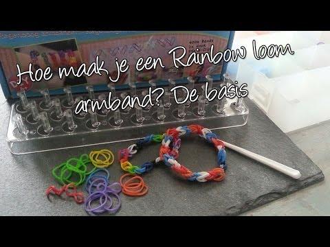 Regenboog Loom Armband