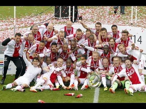 De weg naar het vierde kampioenschap op rij voor Ajax 8