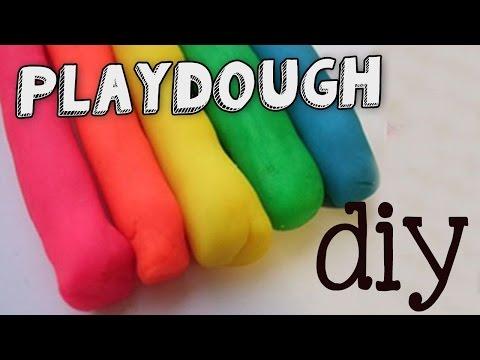 Zelf leren playdoh maken 1