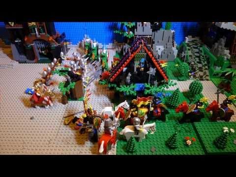 LEGO: Kasteel Stop Motion Animatie 1