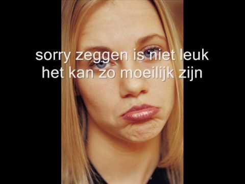 Sorry zeggen 7