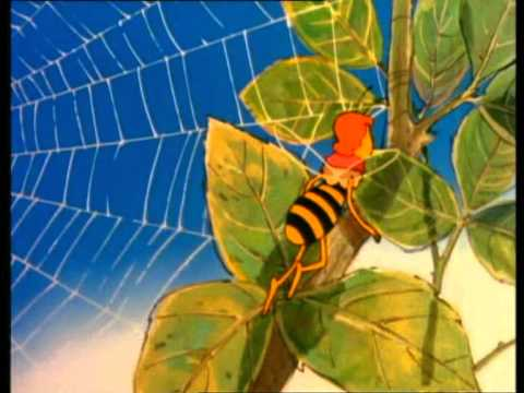 Maja de Bij - Maya leert vliegen - Deel 2 1
