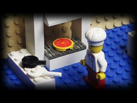 Lego Pizza bezorger 1