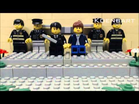 Lego inhuldiging Willem Alexander 1