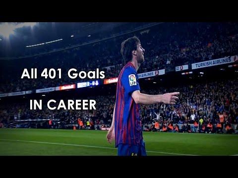 Alle doelpunten van Messi [2004-2014] 1