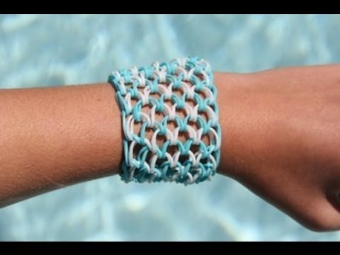 Loom Dragon Scale Bracelet - Armband (10 pinnetjes) 1