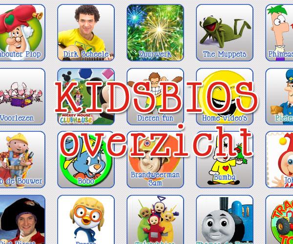 alle kinderfilmpjes van kidsbios