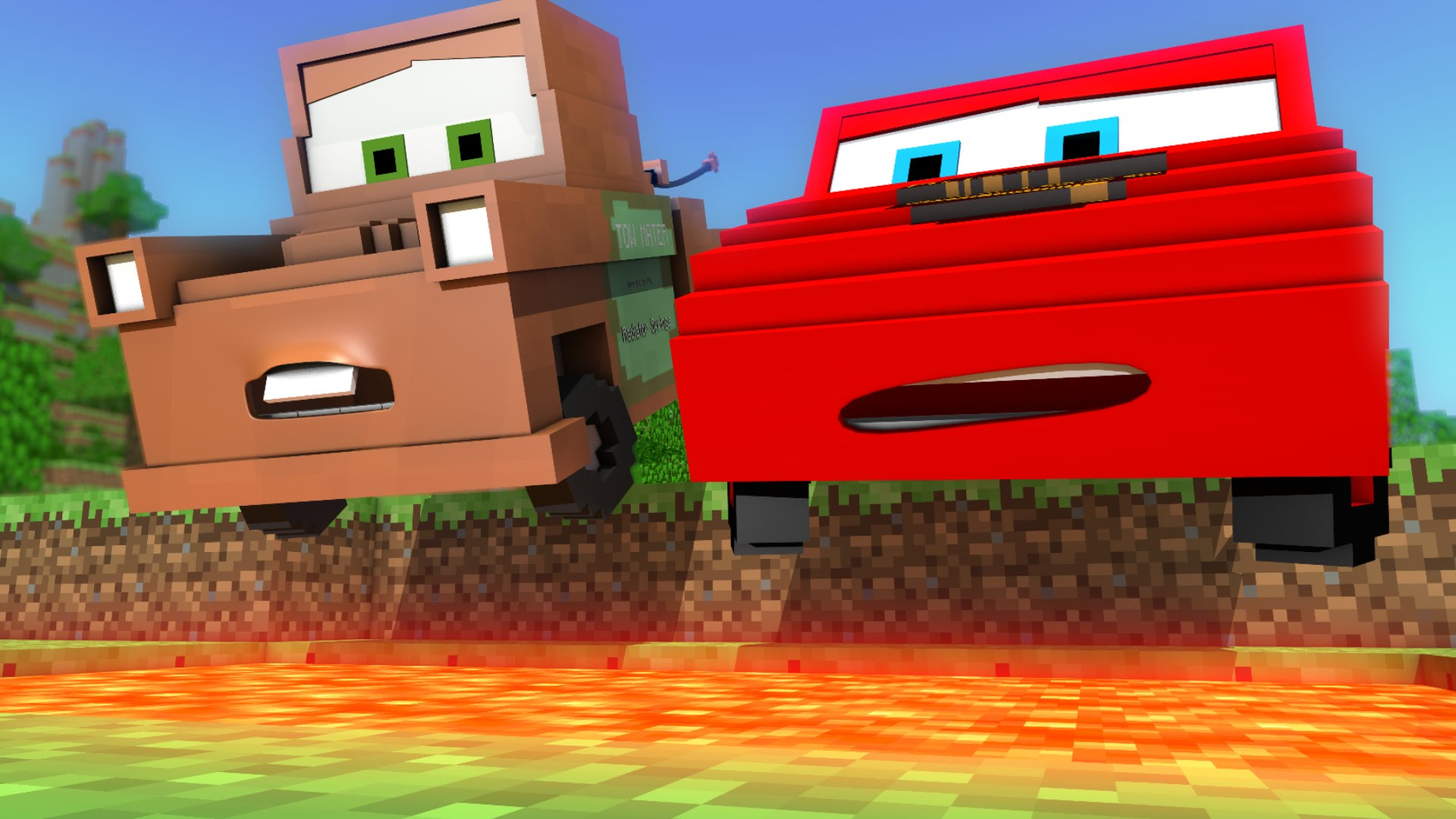 Cars in Minecraft - deel 2 2