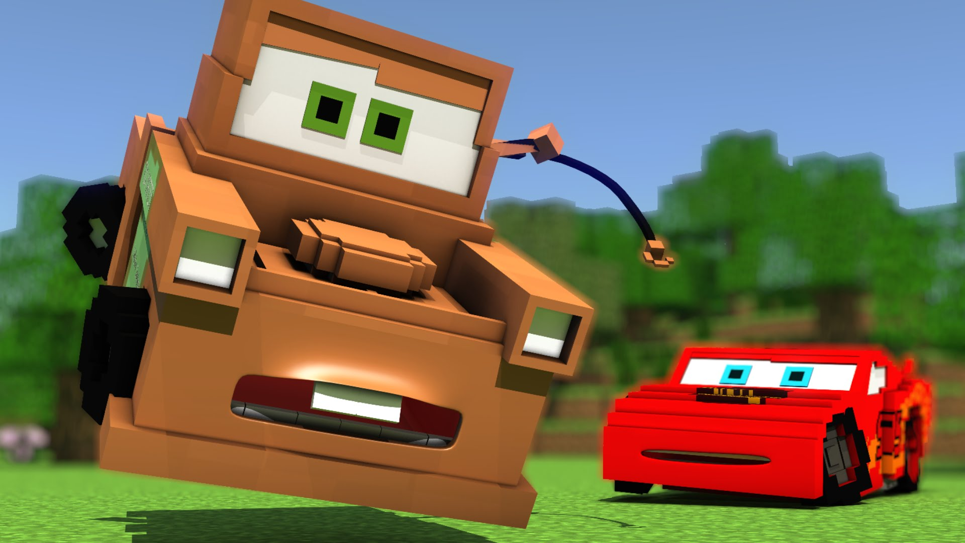 Cars in Minecraft - deel 1 1