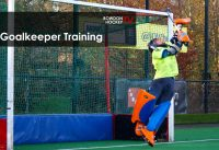 Hockey keeper training 2