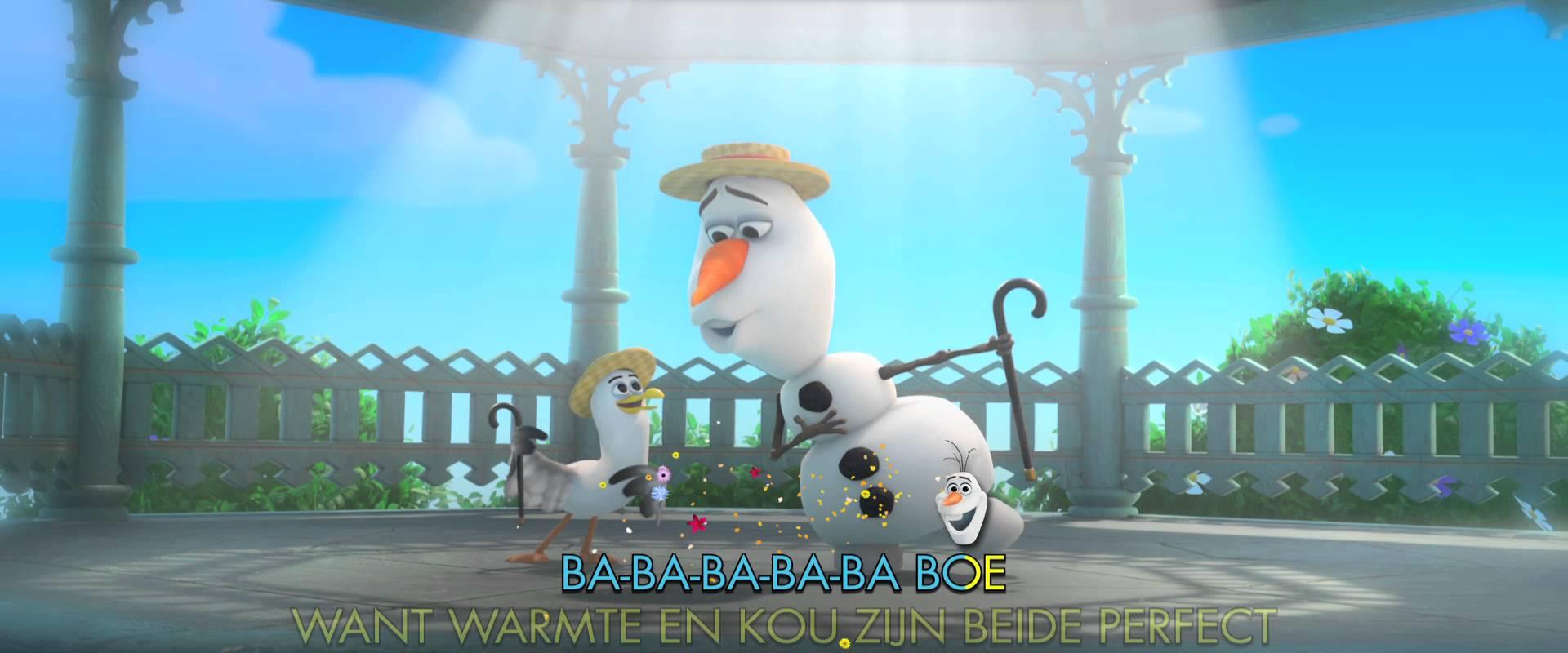 Frozen De Zomer Song Van Olaf Kidsbios Nl