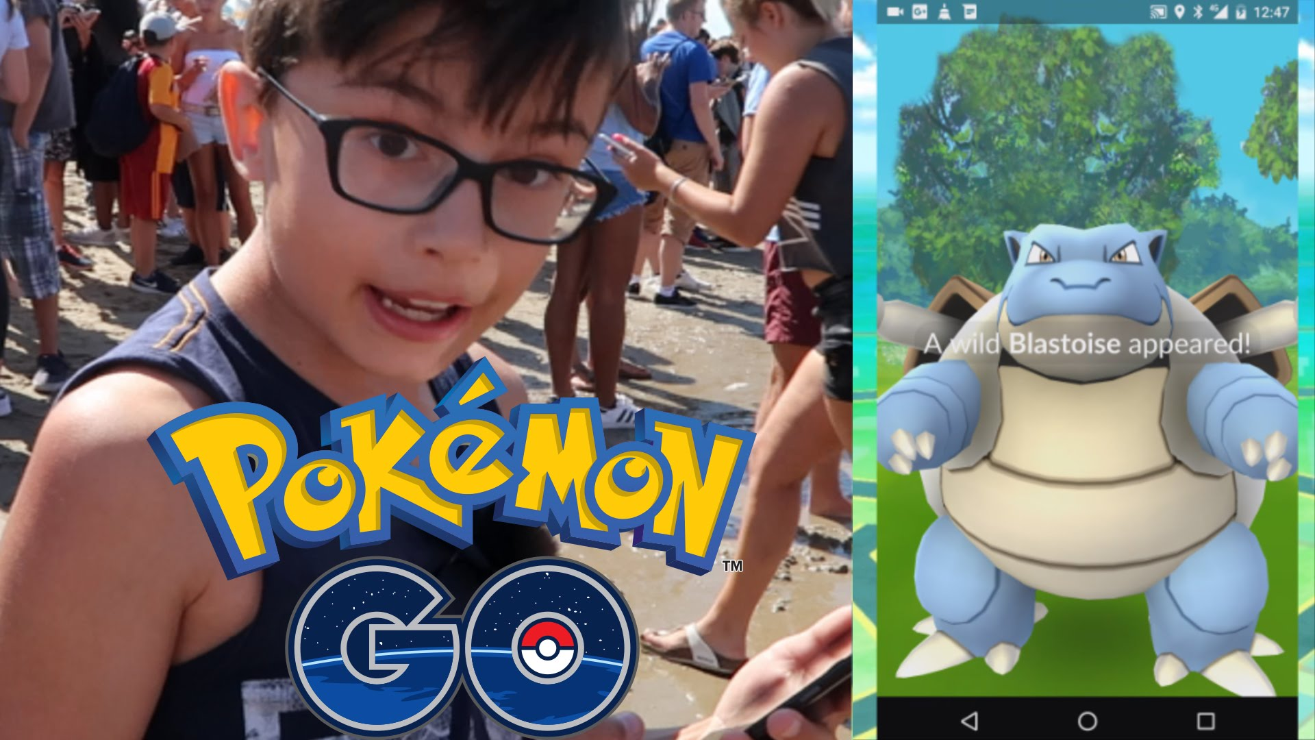 Pokemon Go in Kijkduin door Clonny Games! 2