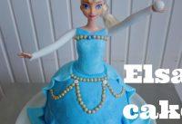 Elza Frozen Taart maken 5