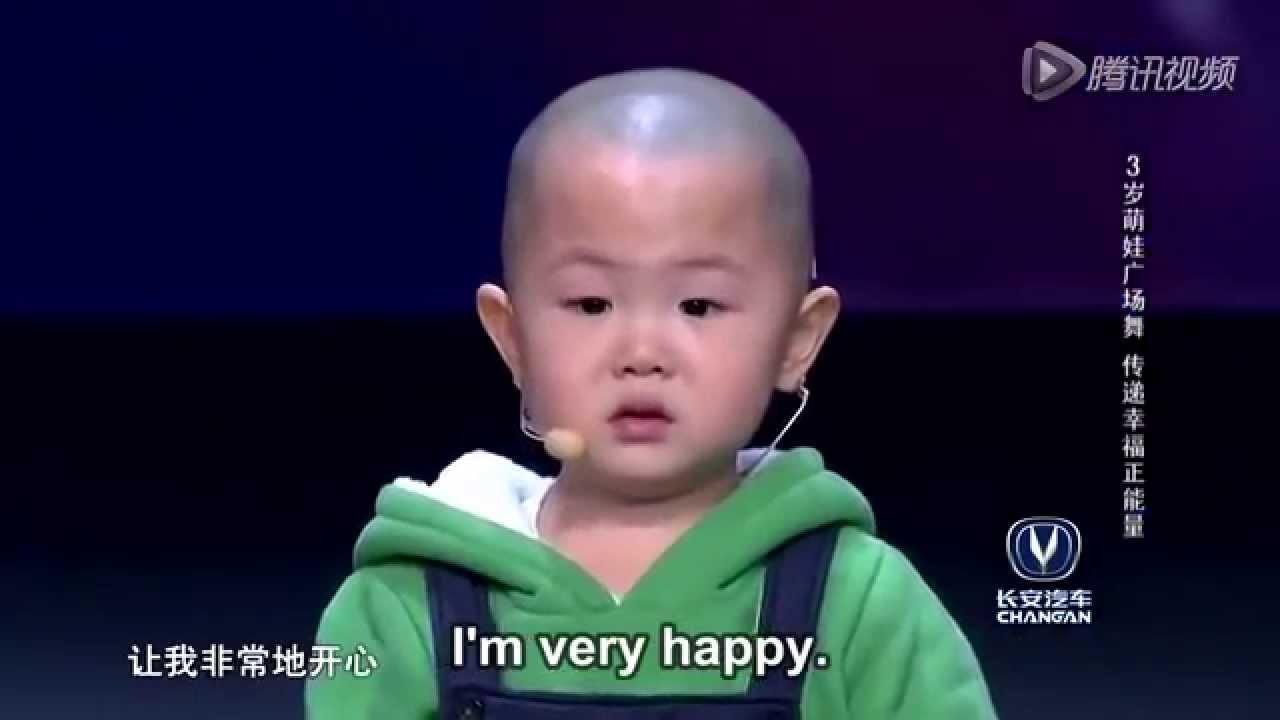 Breakdance jongen van 3 jaar 1