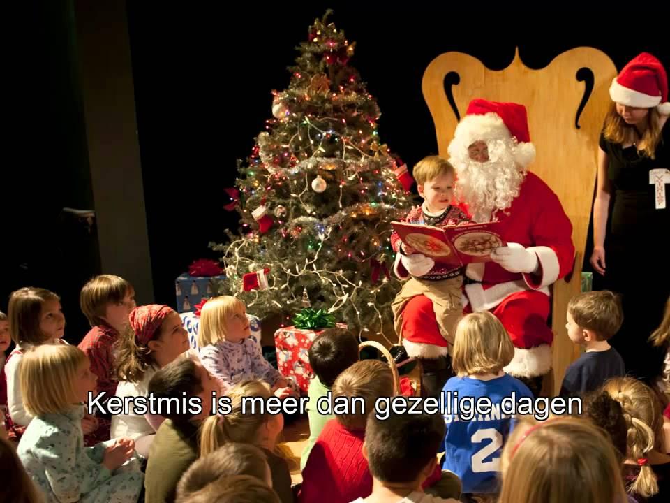 Kerstmis is meer 1
