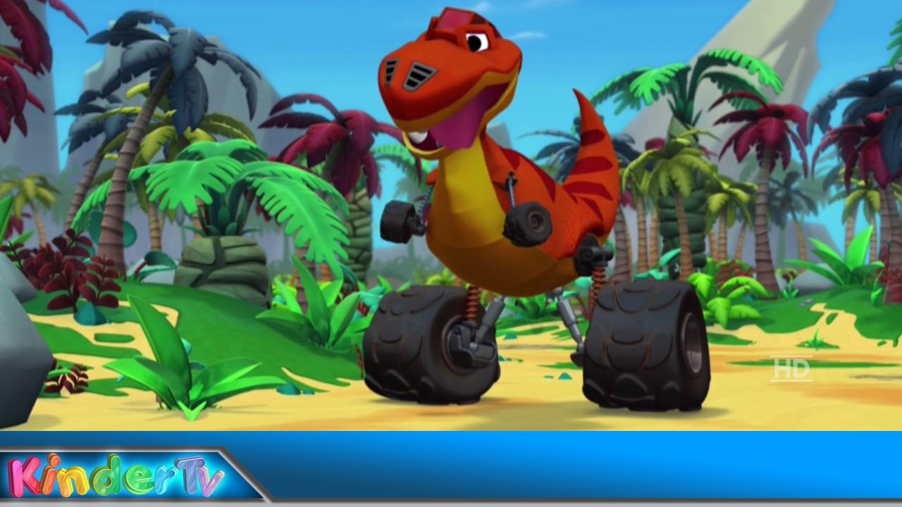Blaze en de Monsterwielen - Het Dino-spel 1