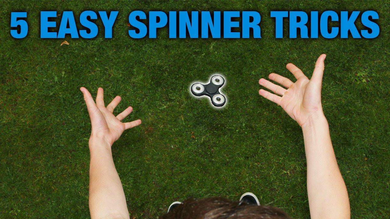 5 eenvoudige fidget spinner tricks voor beginners 2