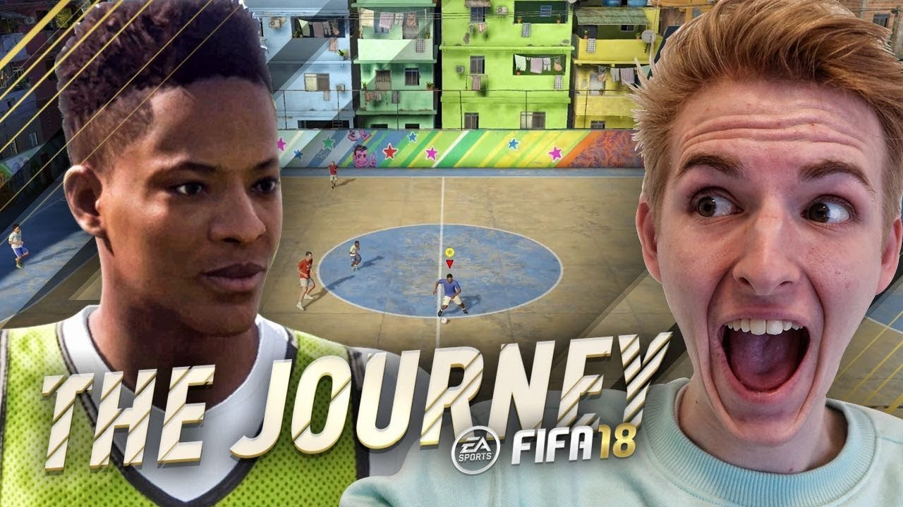 THE JOURNEY #1 - FIFA STREET IN FIFA 18! 1