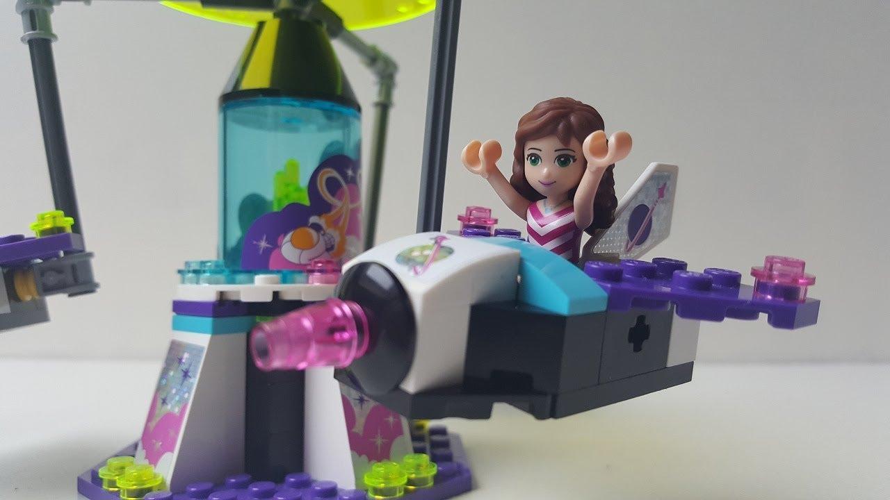 Lego Friends draaimolen maken 1