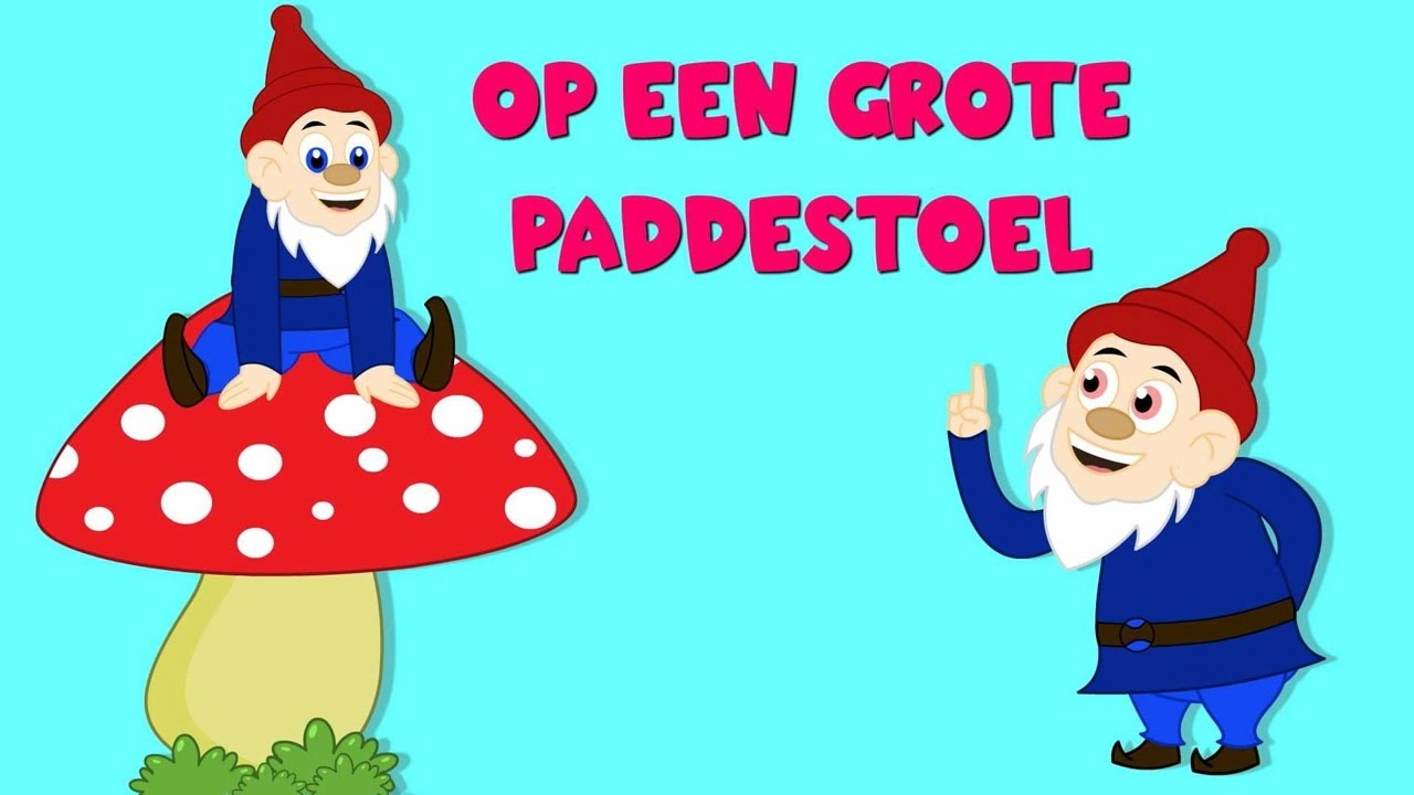 Op Een Grote Paddestoel | Nederlandse Kinderliedjes 2
