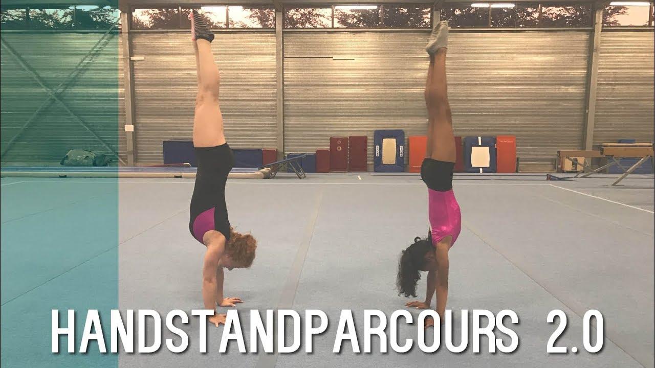 Handstand Parcours Challenge 2.0 | Typisch Turnen 1