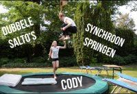 Jumpen op de trampoline 5