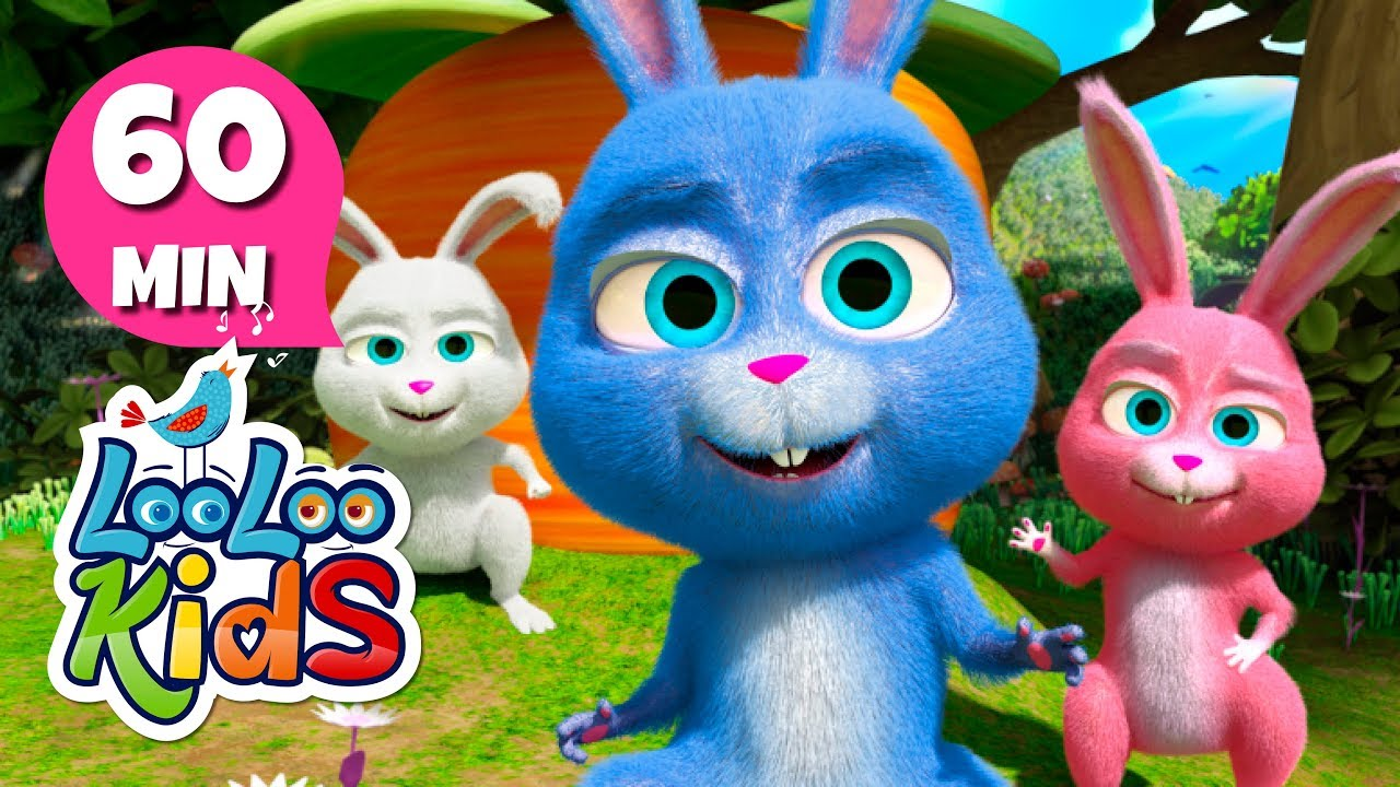 Sleeping Bunnies - Lovely Songs for Children | LooLoo Kids 2