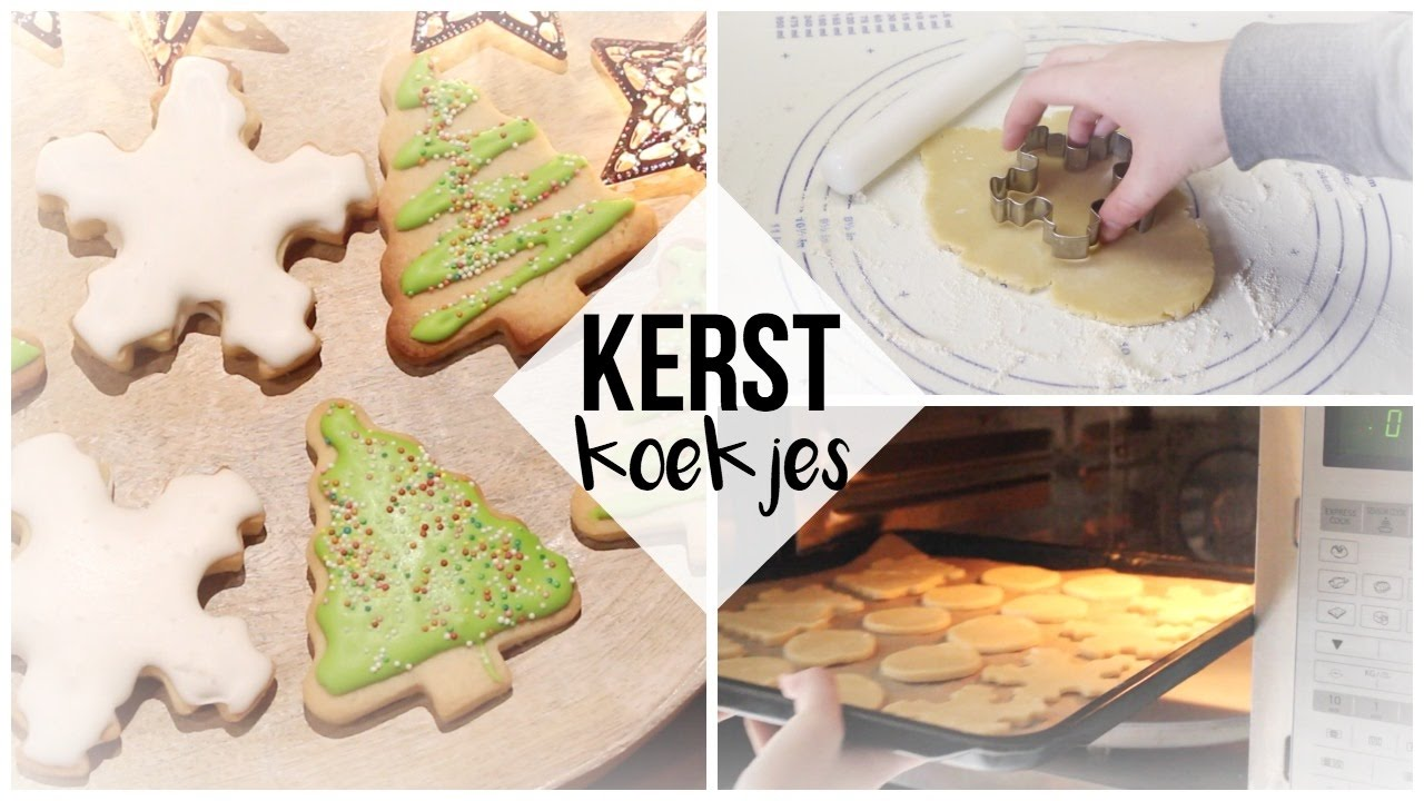 Kerstkoekjes maken en versieren met royal icing 2
