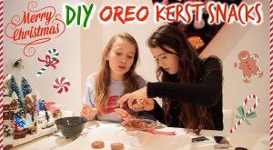 Oreo kerst snacks maken 2