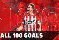 Alle 100 goals van Luuk de Jong bij PSV 8