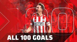 Alle 100 goals van Luuk de Jong bij PSV 5