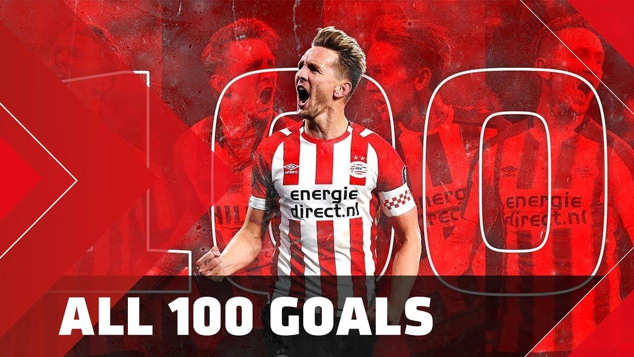 Alle 100 goals van Luuk de Jong bij PSV 1