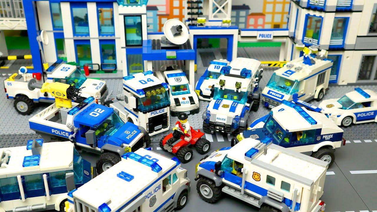 Lego Politieauto's en meer 2