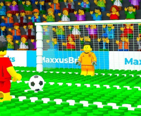 Lego Voetbal - Gemiste penalty 1