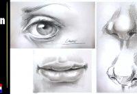 Oog, neus en mond tekenen 10