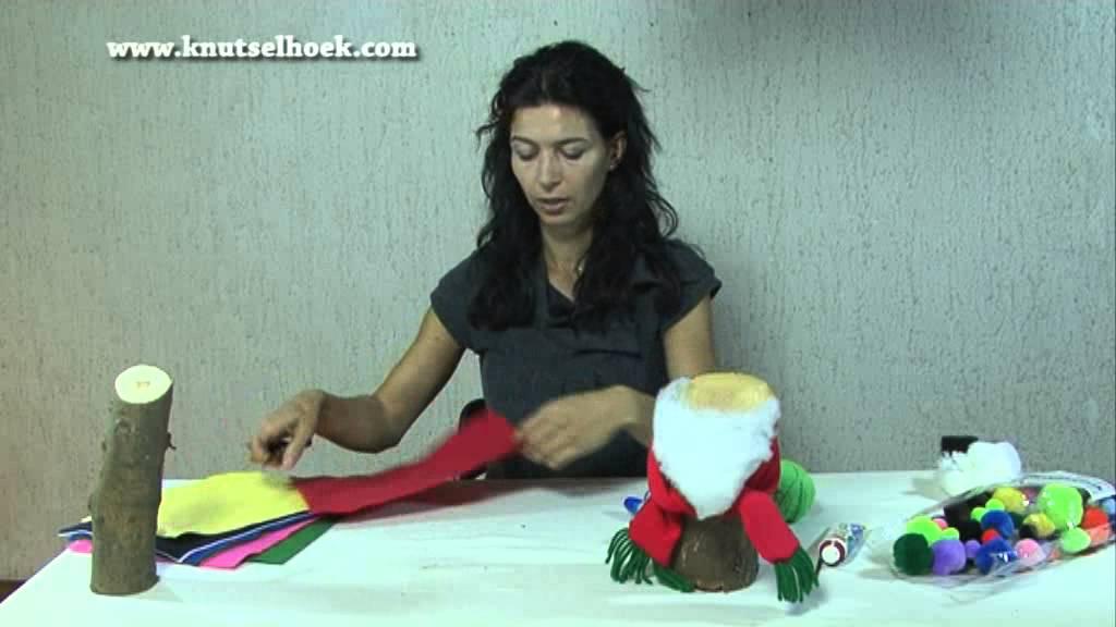 Zelf een leuke kerstman knutselen 3